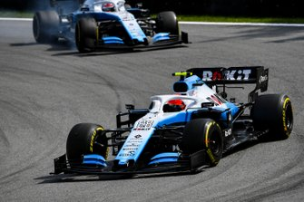 Robert Kubica, Williams FW42 and George Russell, Williams Racing FW42