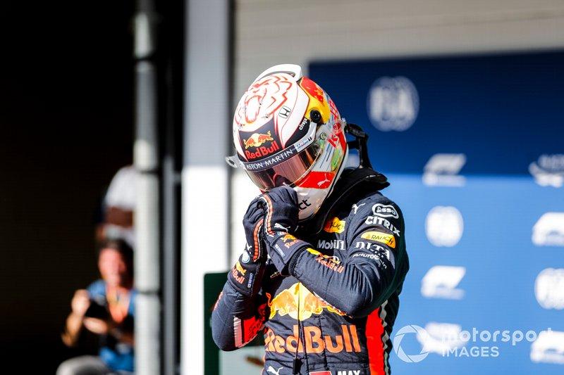 Brazilian GP: Max Verstappen, Red Bull