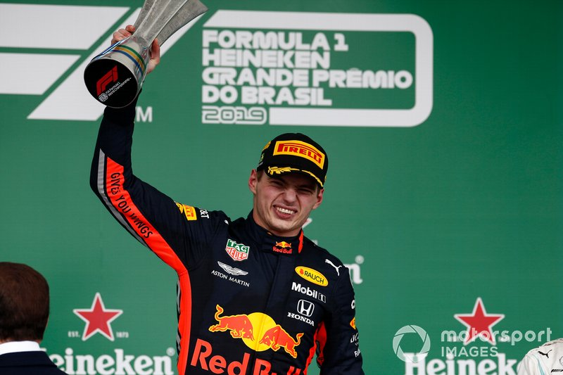Max Verstappen, Red Bull Racing (30 podios)
