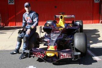 Sebastien Loeb, Campeón del Mundo de Rallyes, prueba para Red Bull Racing