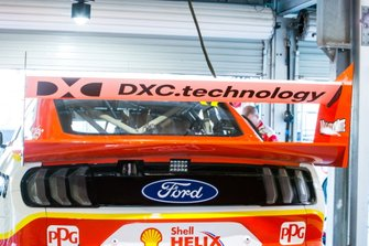DJR Team Penske Ford rear wing