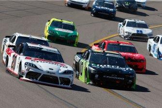 Harrison Burton, Joe Gibbs Racing, Toyota Supra Dex Imaging Ross Chastain, Kaulig Racing, Chevrolet Camaro Nutrien Ag Solutions
