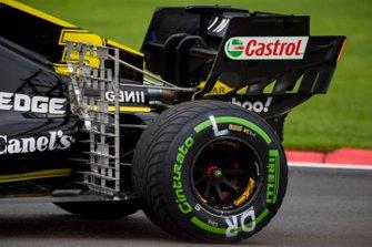 Daniel Ricciardo, Renault F1 Team R.S.19, avec des capteurs aéro