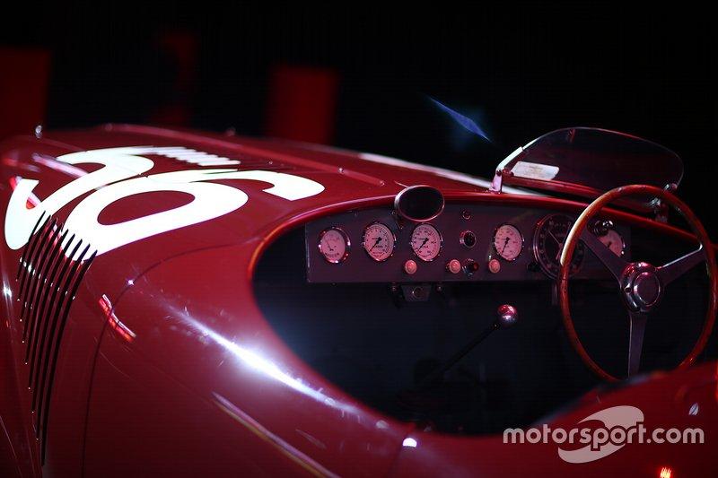 Vetture Ferrari in esposizione