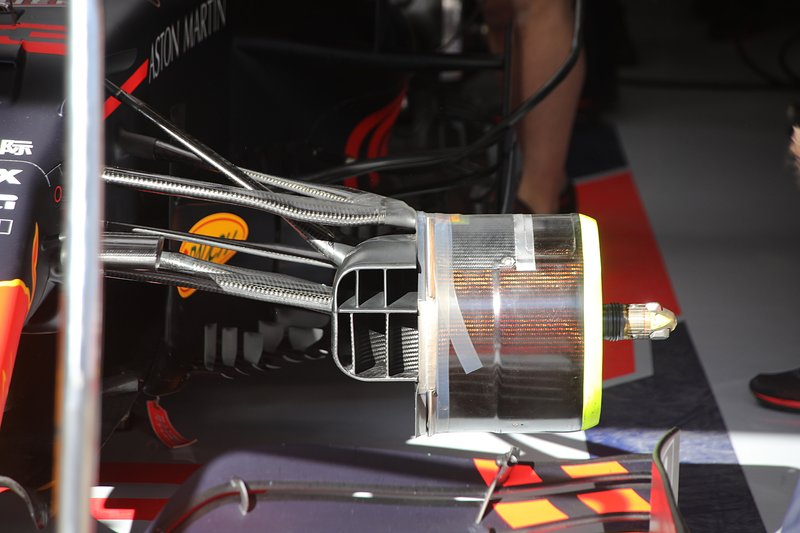 Detalle del Red Bull Racing RB16