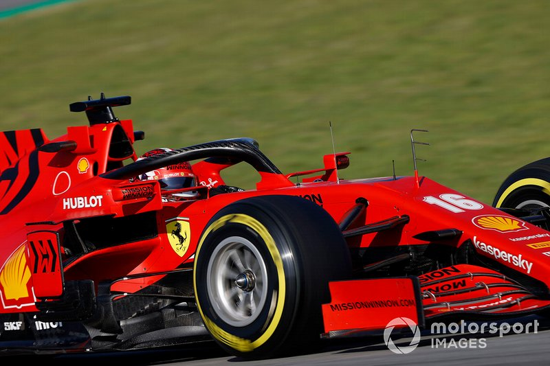 16º Charles Leclerc, Ferrari SF1000: 1:18.289 (con neumáticos C3)
