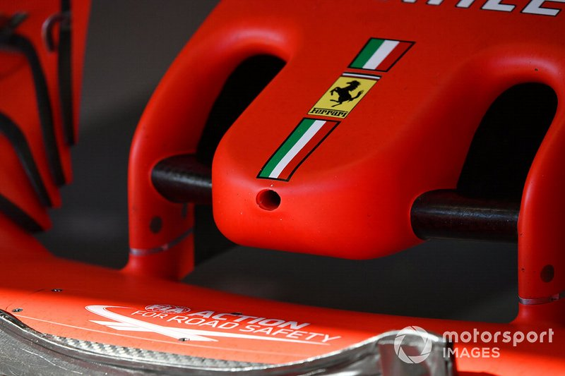 Nose detail of the Ferrari SF1000