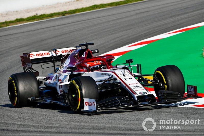 12º Robert Kubica, Alfa Romeo Racing C39: 1:16.942 (con neumáticos C5 en la semana 2)