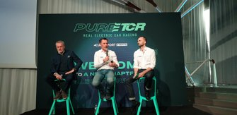 Marcello Lotti, CEO Wsc Ltd., François Ribeiro, Eurosport Events, Xavier Gavory, Pure ETCR Director