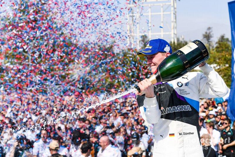 Ganador de la carrera Maximilian Günther, BMW I Andretti Motorsports