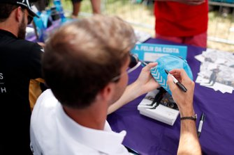 Antonio Felix da Costa, DS Techeetah signs autographs for fans