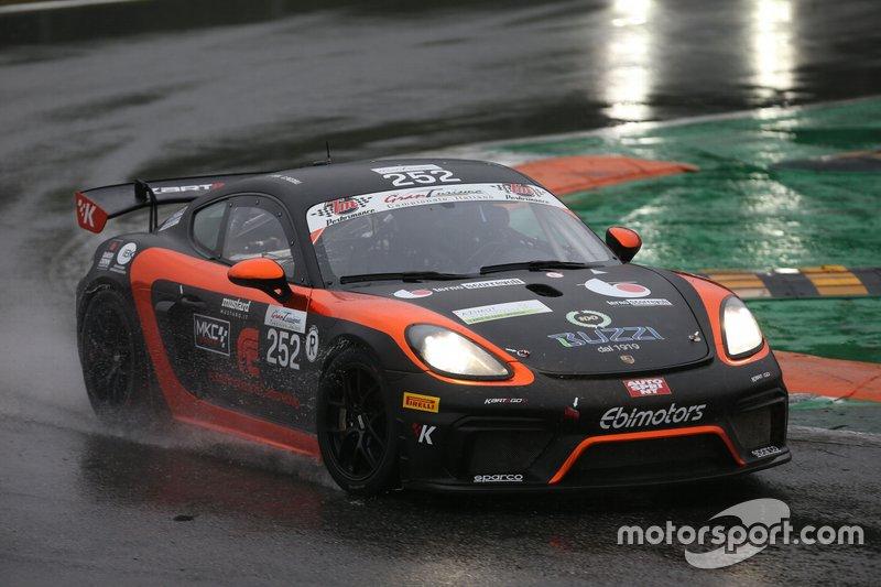 #252 Porsche Cayman GT4, Ebimotors: Piccioli-Pera