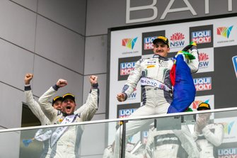 Podium: #7 Bentley Team M-Sport Bentley Continental GT3: Jules Gounon, Maxime Soulet, Jordan Pepper