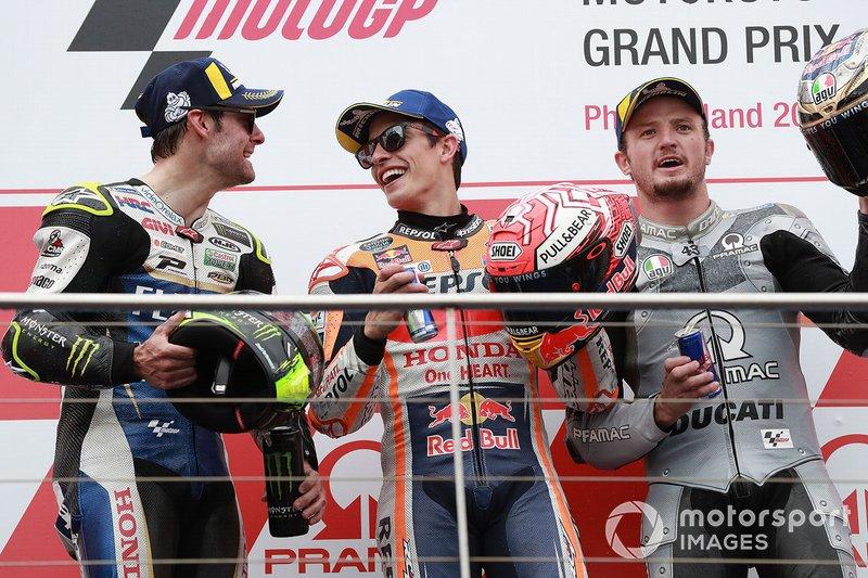 Marc Marquez, Repsol Honda Team, Cal Crutchlow, Team LCR Honda, Jack Miller, Pramac Racing