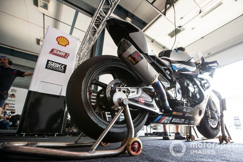 Bike von Tom Sykes, BMW Motorrad WorldSBK Team