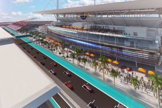 Illustraties circuit Miami