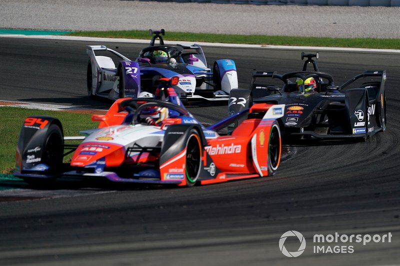 Pascal Wehrlein, Mahindra Racing, M6Electro, Oliver Rowland, Nissan e.Dams, Nissan IMO2, Alexander Sims, BMW I Andretti Motorsports, BMW iFE.20