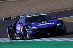 #1 Kunimitsu Honda NSX GT: Jenson Button, Naoki Yamamoto