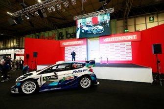 Esapekka Lappi, Teemu Suninen y Gus Greensmith presentan su Ford Fiesta WRC 2020 M-Sport