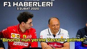 3 Şubat F1 Haberleri