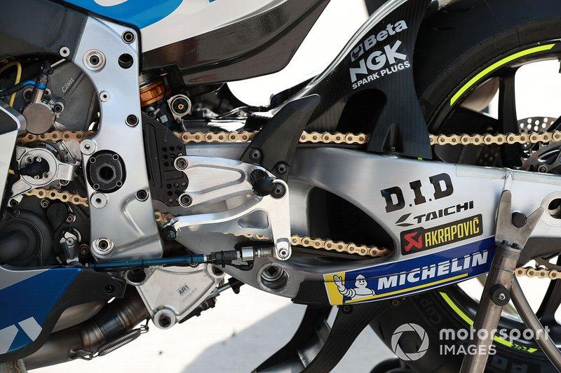 Team Suzuki MotoGP, bike detail
