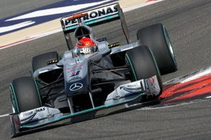 Michael Schumacher, Mercedes MGP W01