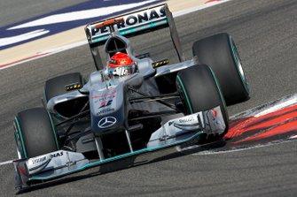Михаэль Шумахер, Mercedes MGP W01