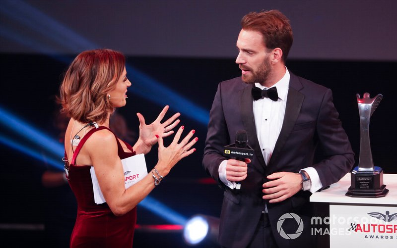 Jean-Eric Vergne riceve il Moment of the Year award