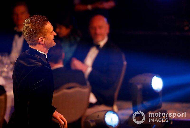 Presentatie van de National Racing Driver of the Year award voor Colin Turkington