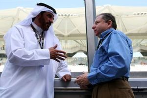 Mohammed Bin Sulayem with Jean Todt, FIA President