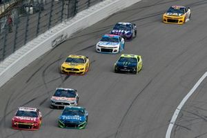 Daniel Suarez, TrackHouse Racing, Chevrolet Camaro Good Sam and Kurt Busch, Chip Ganassi Racing, Chevrolet Camaro AdventHealth