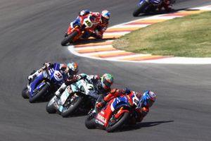 Leon Haslam, Team HRC, Chaz Davies, Team GoEleven, Garrett Gerloff, GRT Yamaha WorldSBK Team