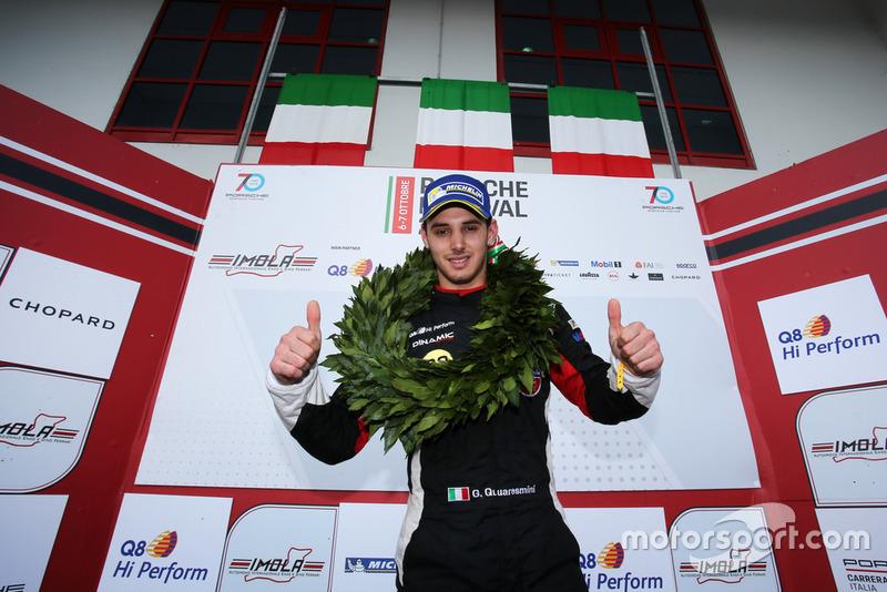 Il Campione 2018 Gianmarco Quaresmini, Dinamic Motorsport