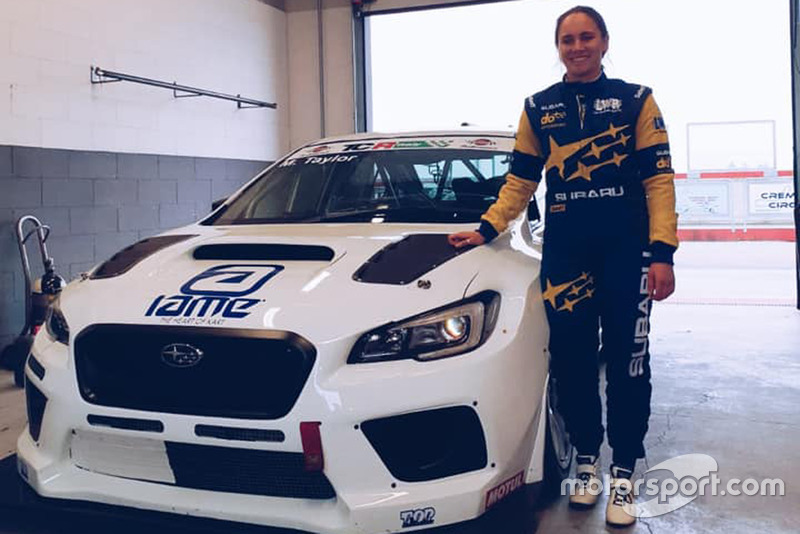 Molly Taylor, Subaru WRX STI TCR, Top Run Motorsport