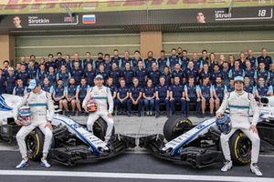 Williams Team Photo