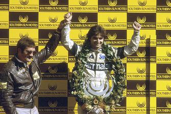 Podium: third place Nelson Piquet, Brabham BMW