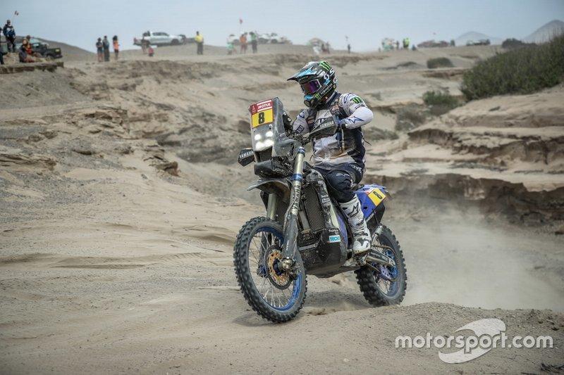 #8 Yamaha Official Rally Team: Franco Caimi