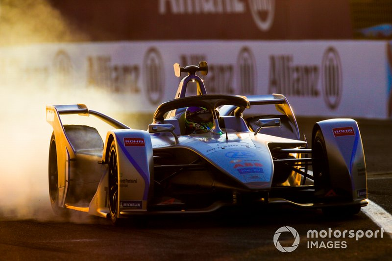 Felipe Massa, Venturi Formula E, Venturi VFE05, locks up