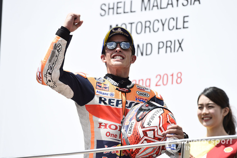 GP de Malaisie : Marc Márquez (Repsol Honda Team), victoire