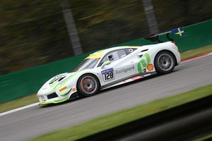#128 Ferrari 488, Gohm Motorsport BB: Christian Kinch