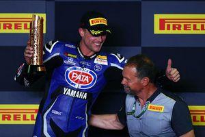 Podio: il terzo classificato Alex Lowes, Pata Yamaha