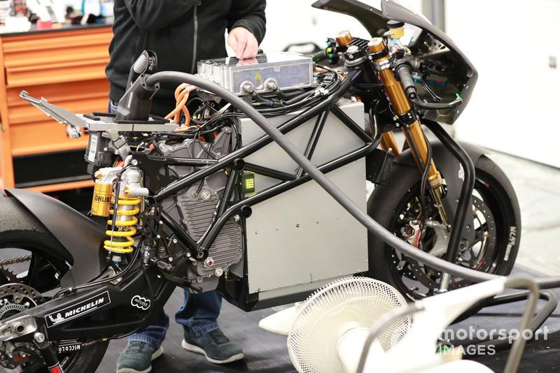 Teste MotoE em Jerez