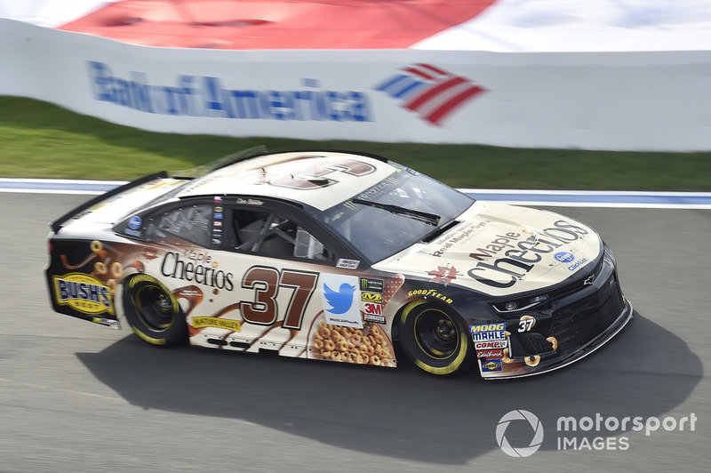 10. Chris Buescher, JTG Daugherty Racing, Chevrolet Camaro Maple Cheerios