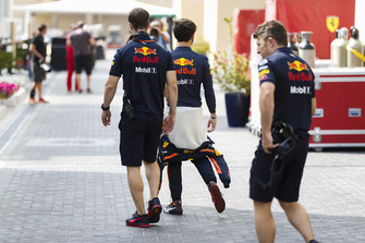 Pierre Gasly, Red Bull Racing, in the paddock