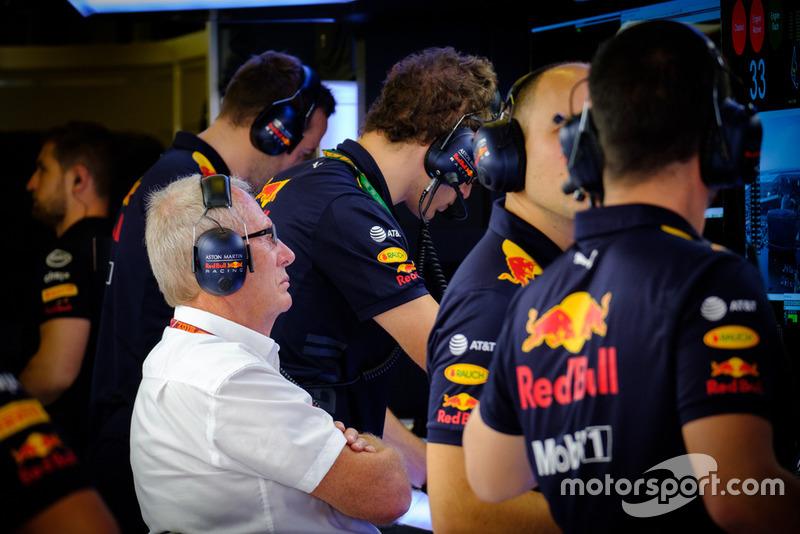 Red Bull Racing RB14 team