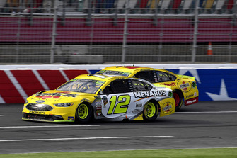 Ryan Blaney, Team Penske, Ford Fusion Menards/Pennzoil, Joey Logano, Team Penske, Ford Fusion Shell Pennzoil