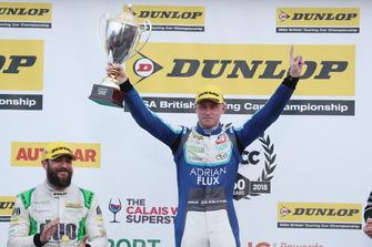 Podium: Race winner Ashley Sutton, Team BMR Subaru Levorg