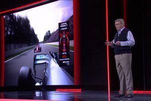 Ross Brawn, F1-TV in 2019