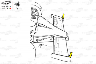 Острый носовой обтекатель McLaren M23