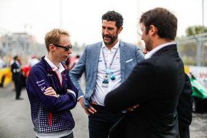 Sylvain Filippi, Managing Director, Envision Virgin Racing on the grid